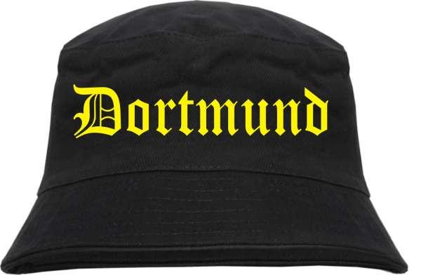 Dortmund Fischerhut + Altdeutsch + schwarz