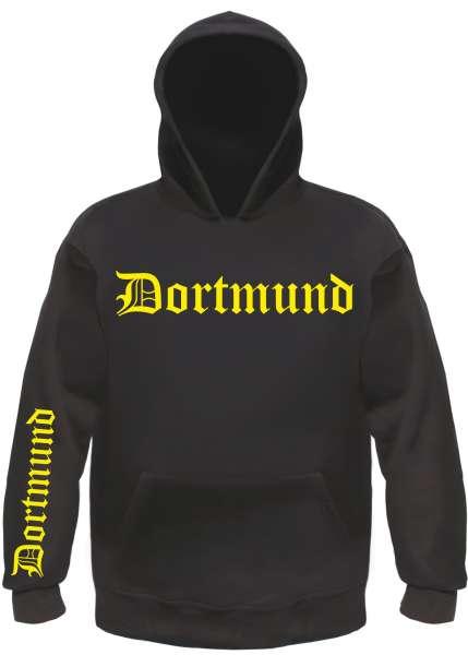 DORTMUND Sweatshirt + Altdeutsch / FÄN + schwarz