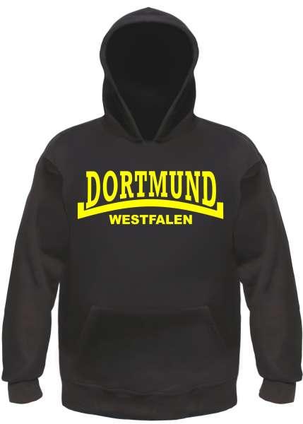 DORTMUND Sweatshirt + Westfalen + schwarz/gelb
