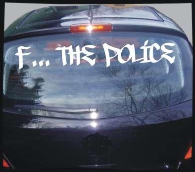 Heckscheiben-Kleber F... THE POLICE