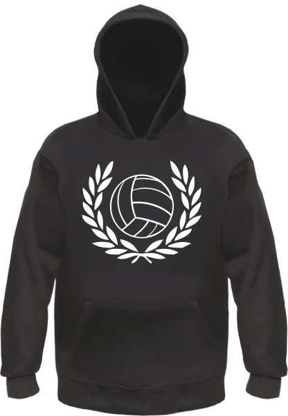 Sieg oder Spielabbruch Sweatshirt - Lorbeerkranz mit Fussball