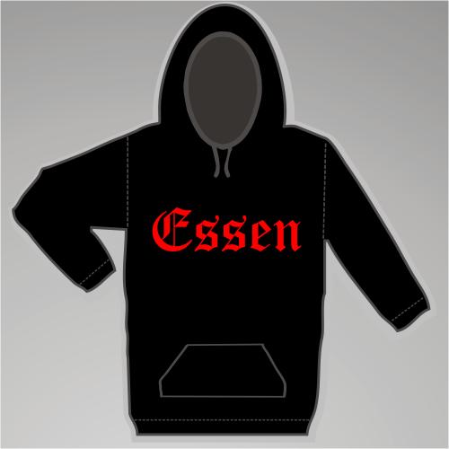 ESSEN Sweatshirt + Altdeutsch + schwarz