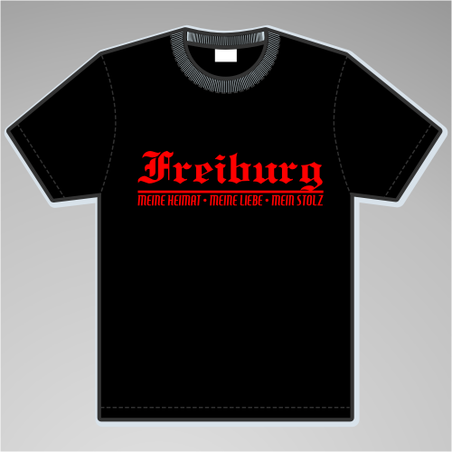 FREIBURG T-Shirt + Meine Heimat + versch. Farben