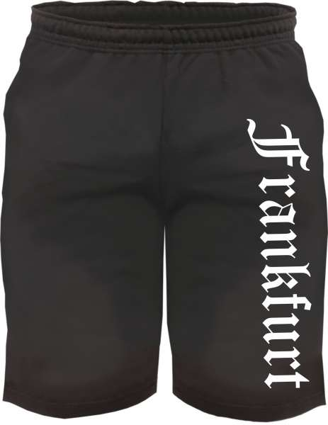 frankfurt sweatshorts kurze jogginghose sos tex gmbh. Black Bedroom Furniture Sets. Home Design Ideas